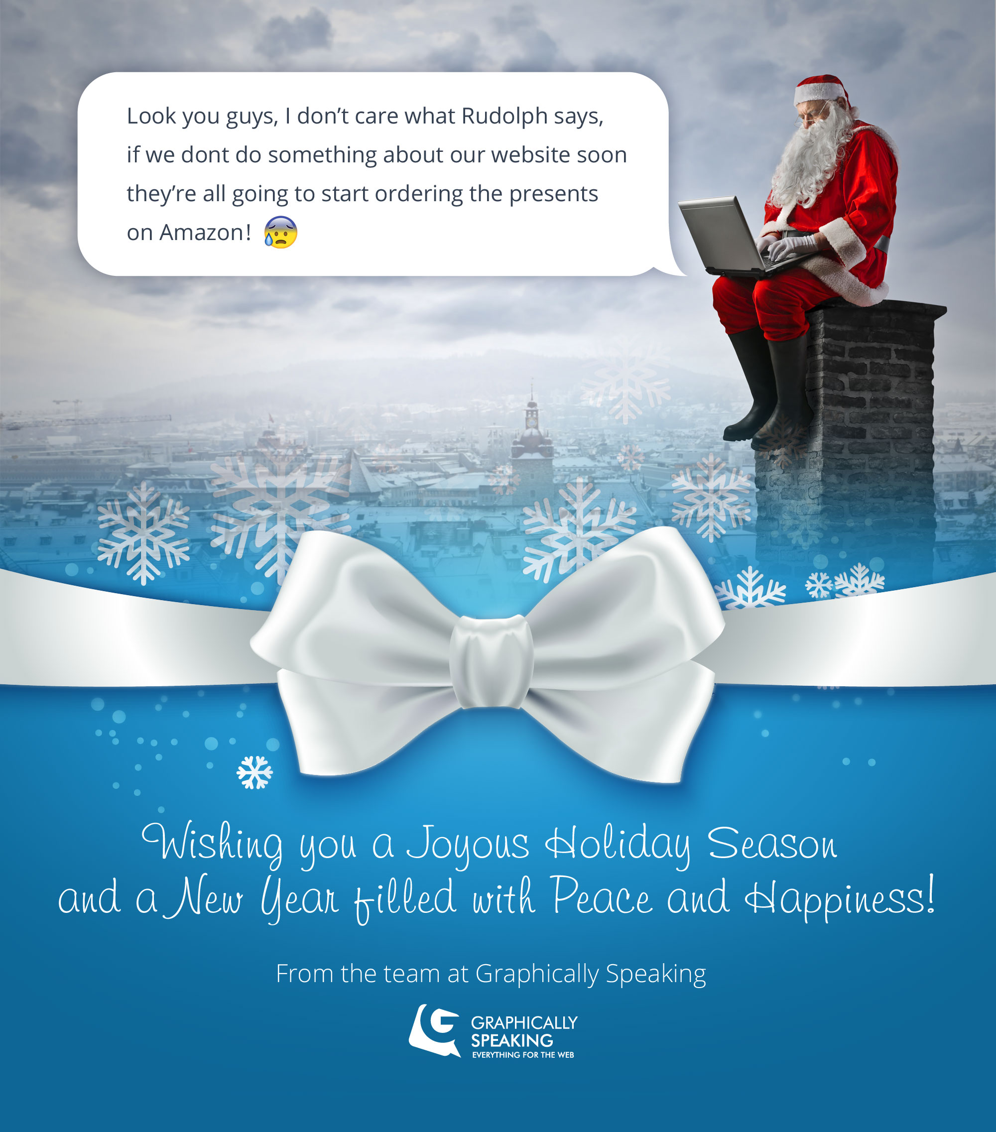 Merry Christmas from Graphically Speaking