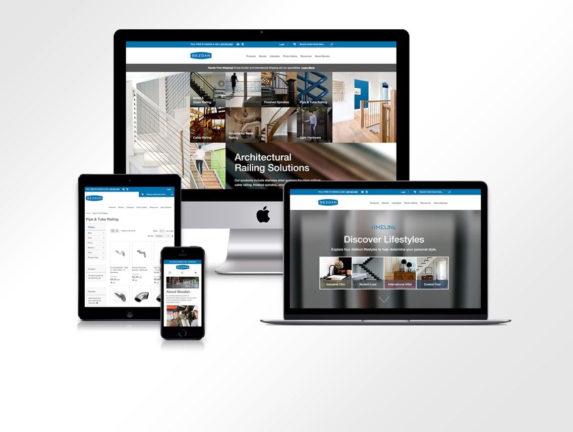 Bezdan Website Design