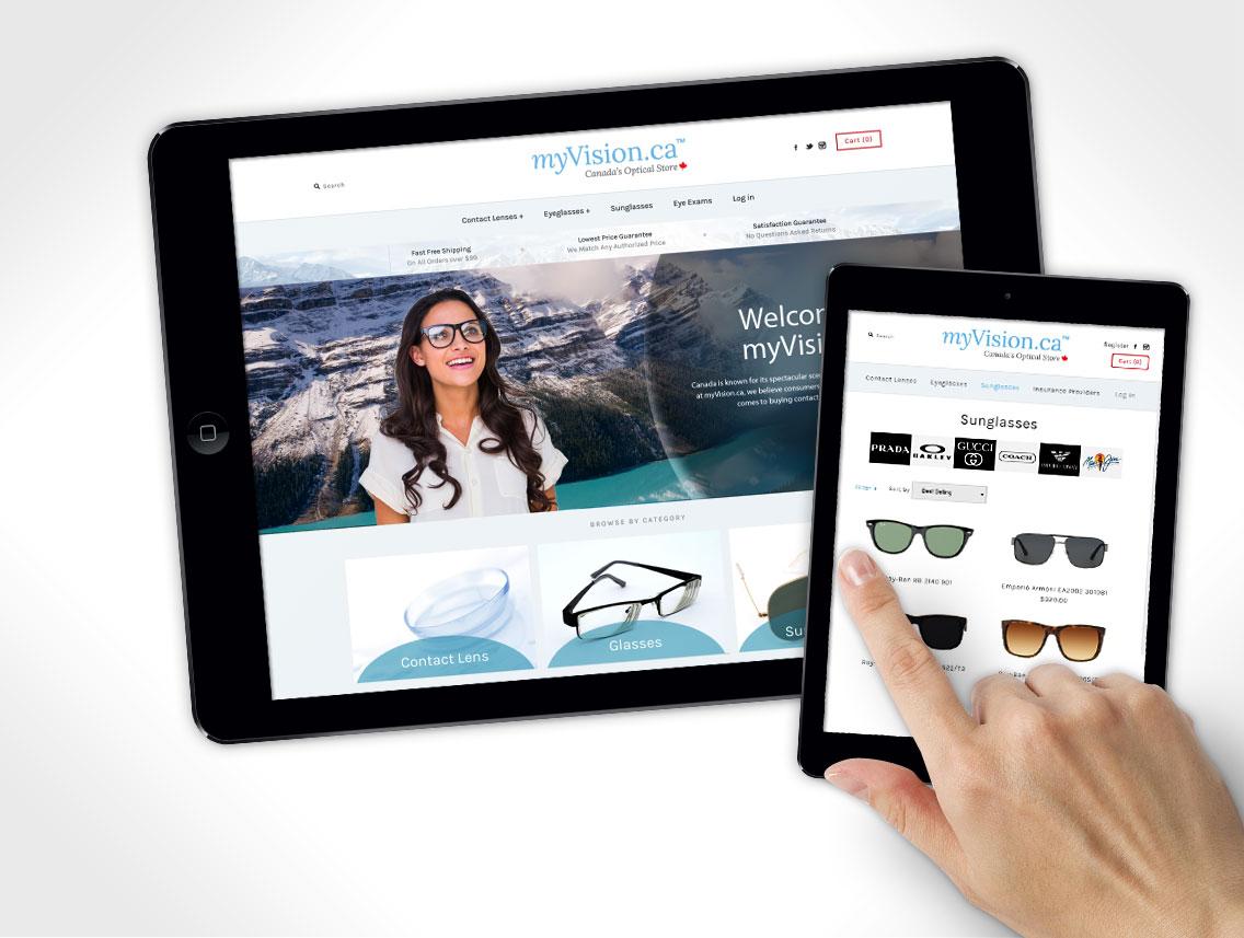 myVision Website Design