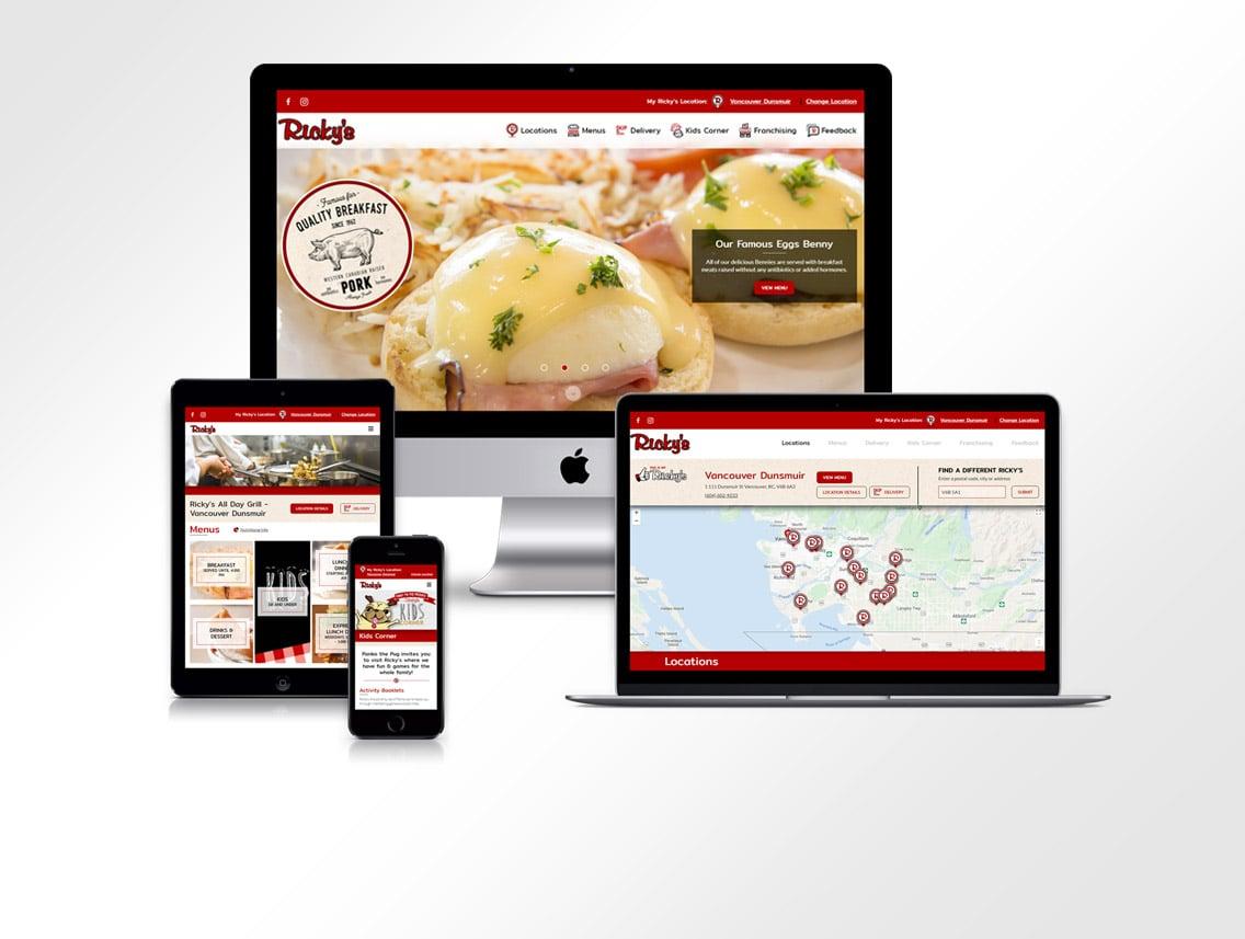 Rickys Website Design