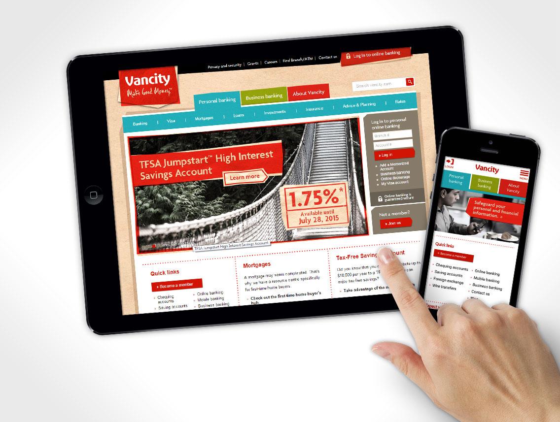 Vancity Website Design
